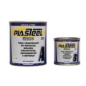 Solda a frio Plasteel L�quido 3:1 - 5,280 Kg - PL3 - Tapmatic