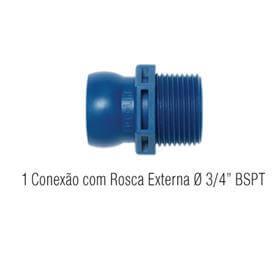 Jogo Conex�o Rosca Externa 8-M - Fixoflex