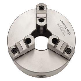 Placa para Torno com 3 Castanhas Sobrepostas Reversíveis - 200mm - Champion Tools