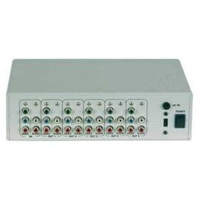 Distribuidor de Video Componente S/ Audio (1x2) - DVC-102 - Transcortec