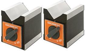 Blocos em V Magnéticos- Ø10-50mm Em Par - Digimess - 310.103
