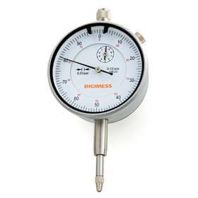 Relógio comparador (Mostrador 58mm) - 0-5mm  - Digimess - 121.303