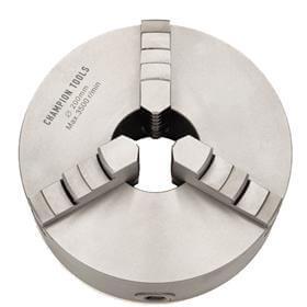 Placa para Torno com 3 Castanhas Universais (Ferro Fundido) - 130mm - Champion Tools