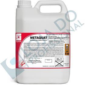 Desinfetante Desengordurante para Ramo Alimentício - Metaquat - 5 Litros - Spartan