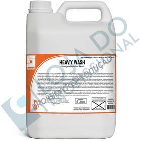 Detergente Neutro ideal para vidros laboratoriais - Heavy Wash - 5 Litros - Spartan