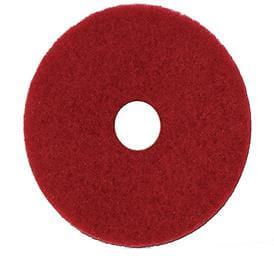 Disco removedor vermelho - 350mm - Bralimpia