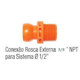Jogo Conexão Rosca Externa 3/8