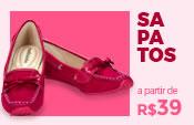 Sapatos Infantil Meninas