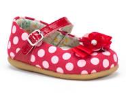 Sapato Meli  Vermelho 079