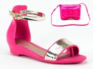 Sandalia Grendene Barbie Rosa