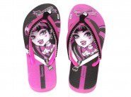 Chinelo Grendene Dedo Monster High