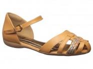 Sandalia Comfortflex Huarache Caramelo 1668405