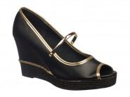 Sapato Beira Rio Peep Toe