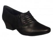 Sapato Comfortflex Preto 1695304