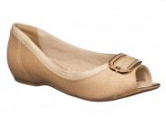 Sapato Comfortflex Peep Toe