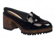 Sapato Moleca Mule Preto 5626.100