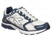Tenis Diadora Running Branco Marinho NEW STRATUS 125700