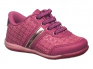 Tenis Kidy Respitec Calce Fácil Acai Rosa 009-0678