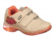Tenis Kidy Running Marfim Coral FLEX LIGHT 020.0040