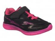 Tenis Klin Running Preto Pink 140.010000