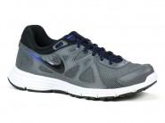 Tenis Nike Running Cinza Preto REVOLUTION 2 554954