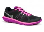 Tenis Nike Running Preto Pink FLEX 2014 RN 642780