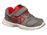 Tenis Nike Running Chumbo Vermelho DOWNSHIFTER 6 684981