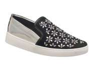 Tenis Vizzano Slip On Sport Chic Metalizado