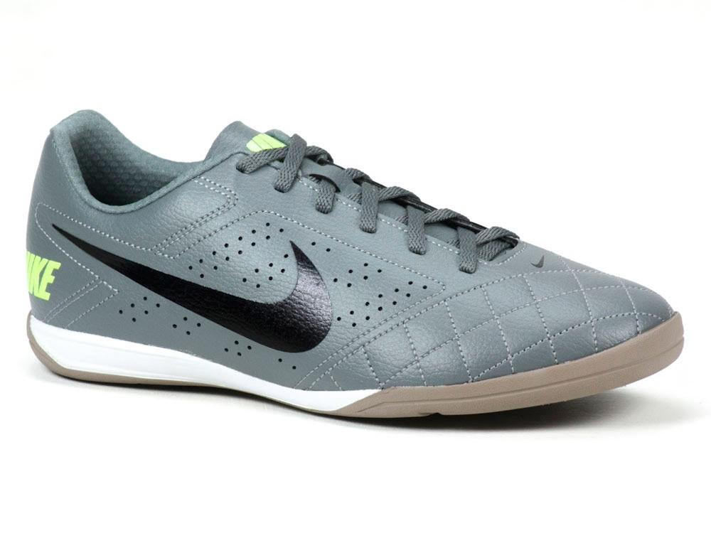 Chuteira Nike Indoor   Futsal BECO 2 646433 Cinza Preto e18700d9f2f8c