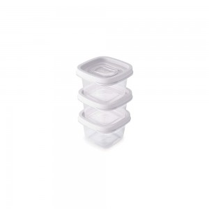 Imagem do produto - Conjunto de Potes 200 ml - 3 Unidades | Clic
