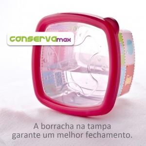 Imagem do produto - Pote 1,05 L | Patchwork - Conservamax