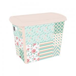 Imagem do produto - Caixa 7,8 L | Patchwork Floral