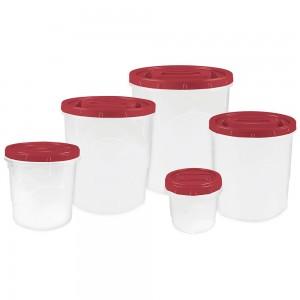 Imagem do produto - Kit Potes para Mantimentos Grande - 5 un.| Rosca