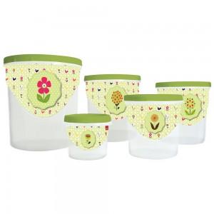 Imagem do produto - Kit Potes Mantimentos | Rosca Galo Floral