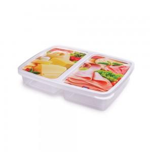 Imagem do produto - Pote 1,1 L - 2 Divisórias | Frios - Clic