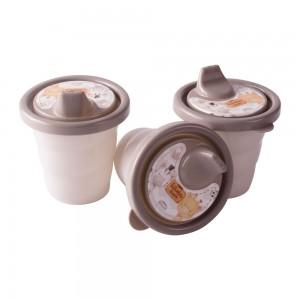 Imagem do produto - Conjunto de Copos com Bico - 3 Unidades   Os Filhotes