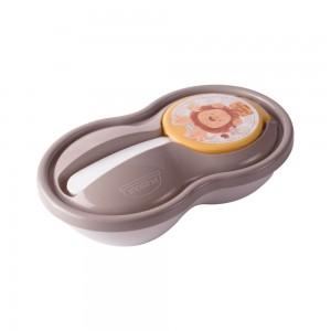 Imagem do produto - Pote de Papinha com Colher   Os Filhotes