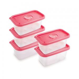 Imagem do produto - Conjunto de Potes de 380 ml - 5 Unidades   Pop