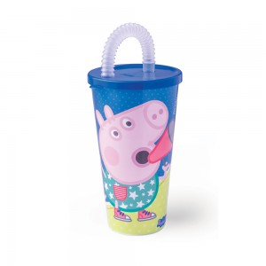 Imagem do produto - Copo com Canudo 430 ml | Peppa