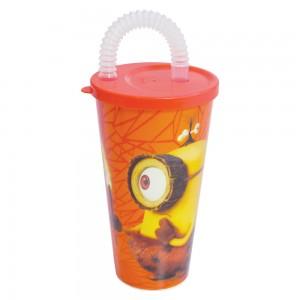 Imagem do produto - Copo com Canudo 430 ml | Minions - Caverna