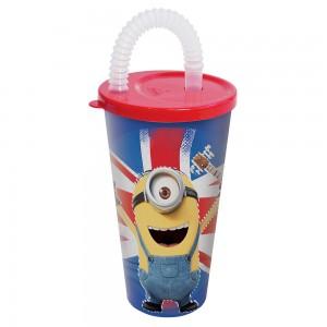Imagem do produto - Copo com Canudo 430 ml | Minions - London