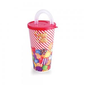 Imagem do produto - Copo com Canudo 430 ml | Candy Crush