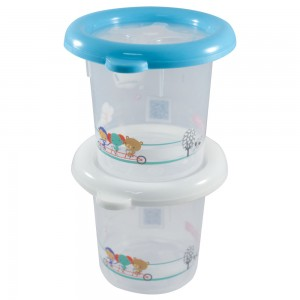 Imagem do produto - Conjunto de Potes 390 ml - 2 Unidades | Fisher Price - Conservamax
