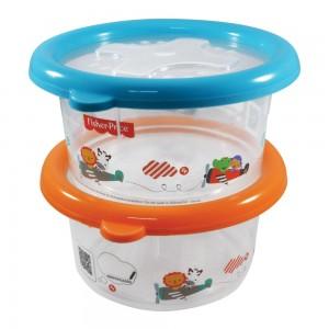 Imagem do produto - Conjunto de Potes 660 ml - 2 Unidades | Fisher Price - Conservamax