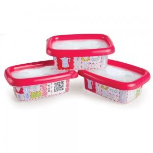 Imagem do produto - Kit Potes 300 ml - 3 un. | Conservamax Patchwork