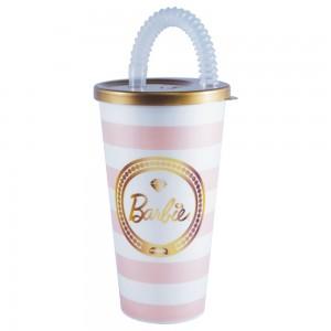 Imagem do produto - Copo com Canudo 430 ml | Barbie