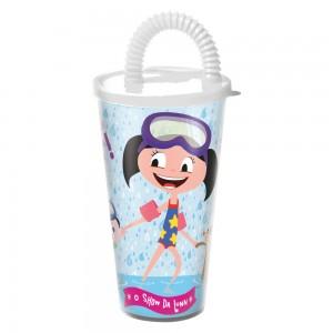 Imagem do produto - Copo com Canudo 430 ml | O Show da Luna