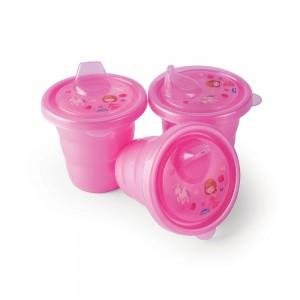 Imagem do produto - Conjunto de Copos com Bico - 3 Unidades | Baby Princess