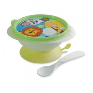 Imagem do produto - Tigela com Ventosa e Colher | Os Filhotes