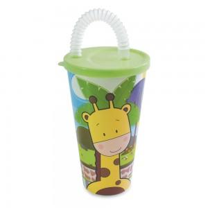Imagem do produto - Copo com Canudo 430 ml   Os Filhotes